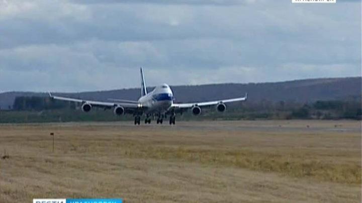 В Красноярске из-за задымления экстренно сел самолет
