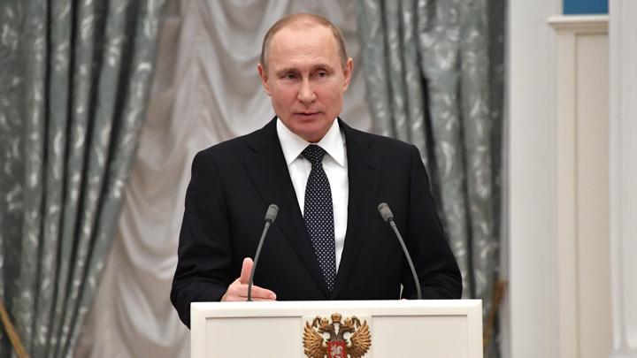 Путин выдвинут на Нобелевку. Кремль не против