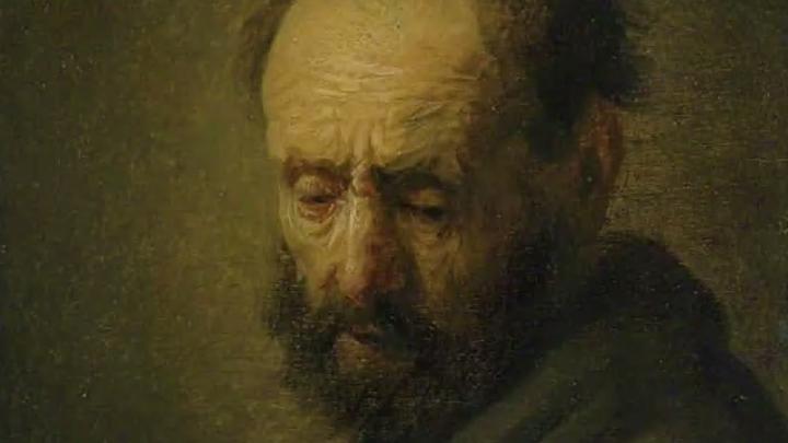 Картина «Голова бородатого мужчины» может принадлежать кисти Рембрандта