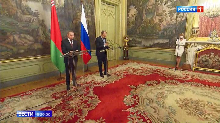 Не допустить украинского сценария: о чем говорили Лавров и Макей