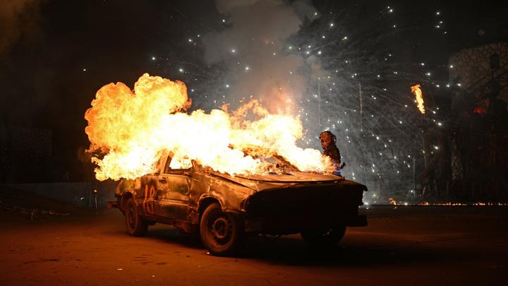"Шоу ""Карнавал огня"". Фоторепортаж"