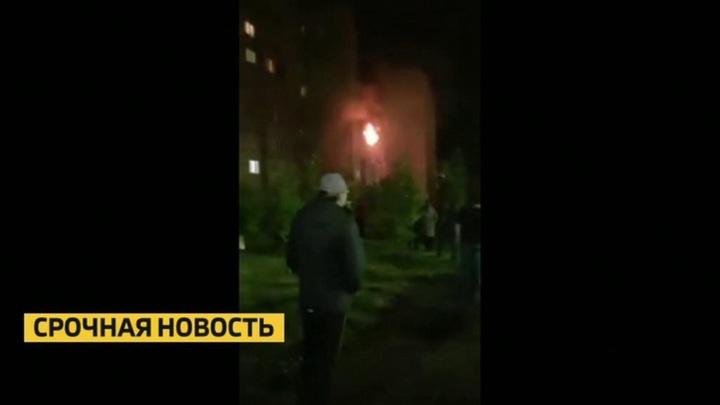 Пожар в Нижнекамске после взрыва газа потушен
