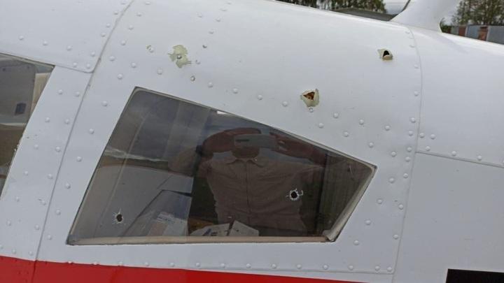 Житель Подмосковья открыл огонь по набиравшему высоту самолету