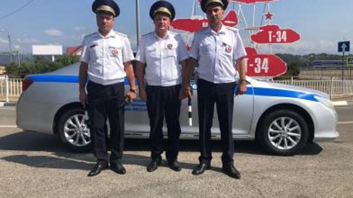 В Сочи полицейские спасли туриста, потерявшего сознание в Олимпийском парке