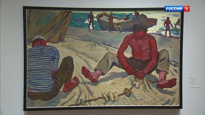 Выставка «Никоновы. Три художника» проходит в Новой Третьяковке