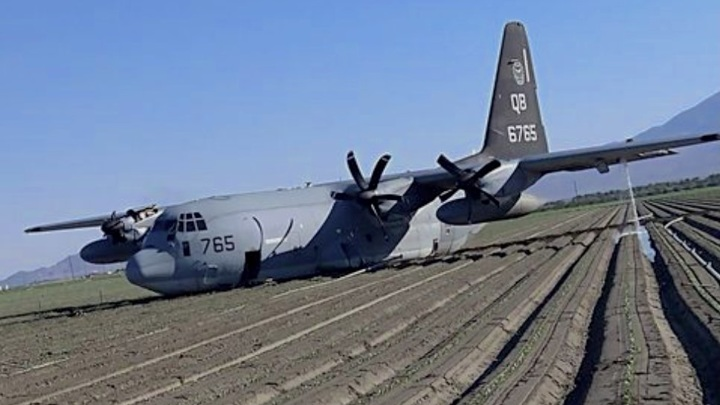 Истребитель F-35B разбился после столкновения с самолетом-заправщиком в США