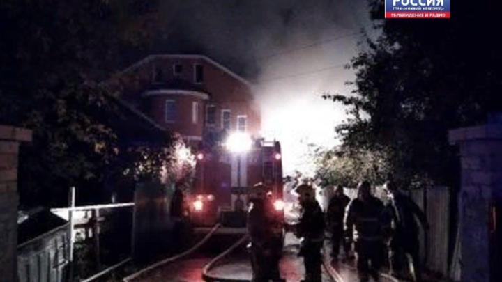 В Нижнем Новгороде из-за пожара в Доме милосердия эвакуировали 26 человек