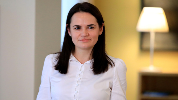 Тихановская благодарна за выдвижение на Нобелевскую премию мира