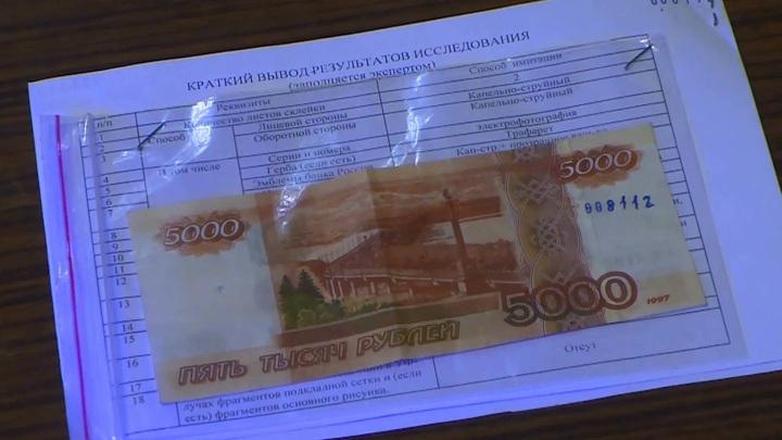 Распространитель фальшивых купюр задержан смоленской полицией