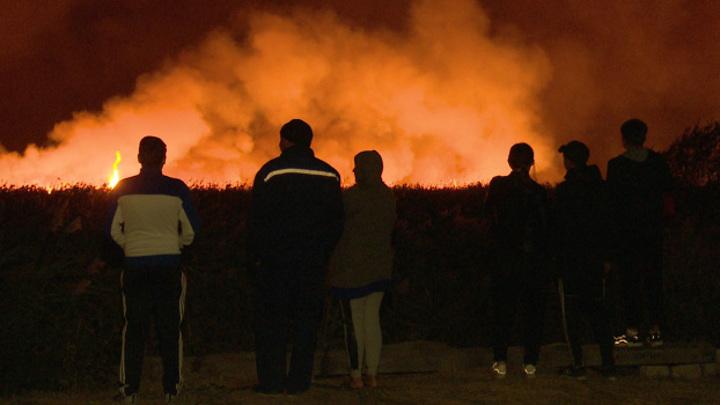 В Воронежской области спустя 6 дней потушили мощный пожар на площади 150 га