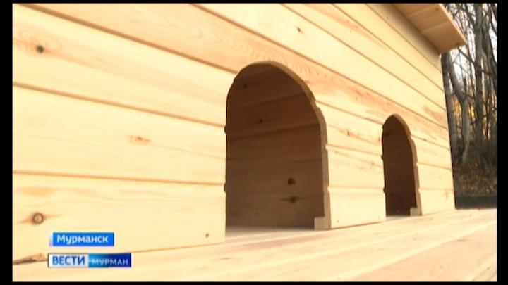 В Мурманске школьники построили дома для уток