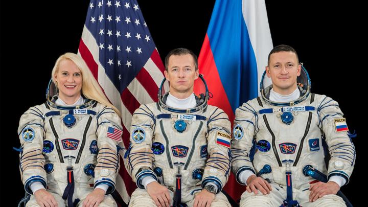Утвержден основной состав экипажа транспортного пилотируемого корабля «Союз МС-17»