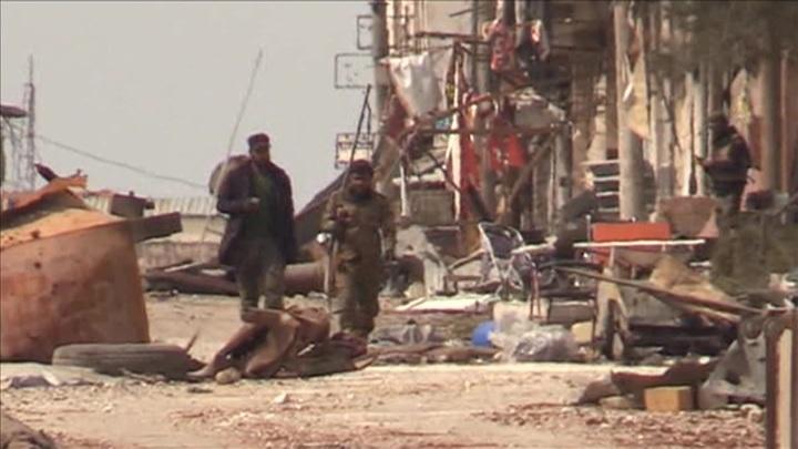 Пункт пропуска в Сирии был атакован беспилотником и обстрелян минометами