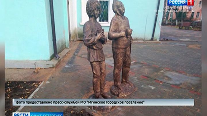 """В Ленобласти ищут злоумышленников, укравших скульптуру """"Балбеса"""" из знаменитой троицы"""