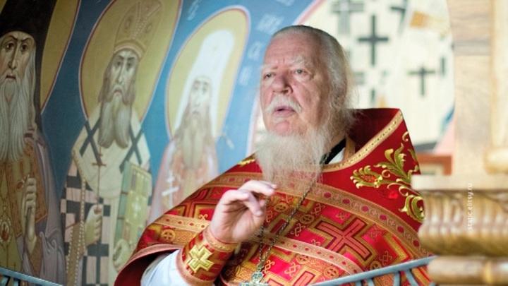 Протоиерея Смирнова похоронили за алтарем храма, который он возглавлял