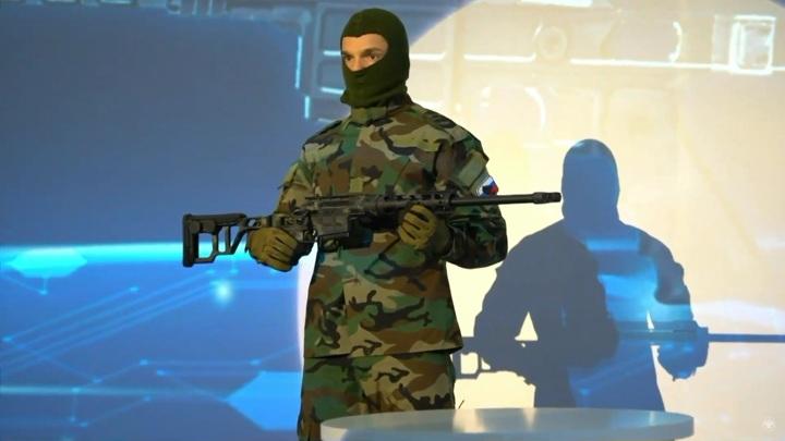 """""""Рособоронэкспорт"""" презентовал компактную снайперскую винтовку"""