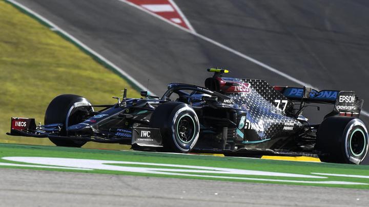 Боттас стал лучшим на первой практике Гран-при Испании