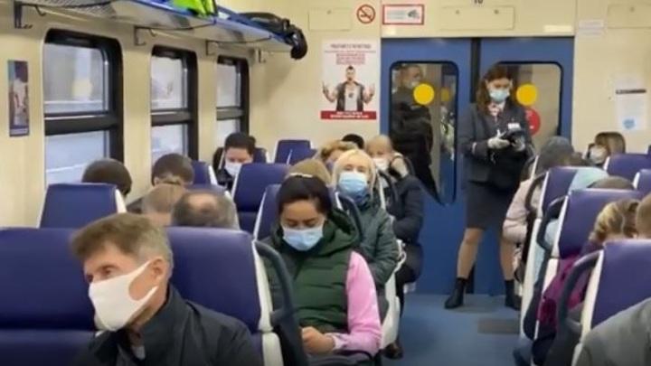 滨海边疆区的州长坐火车上班