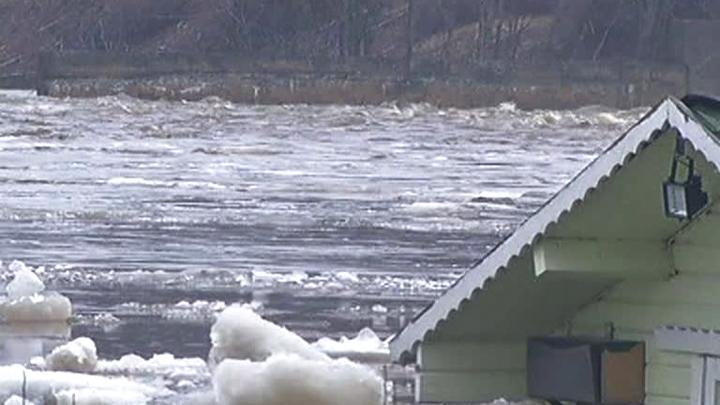 Эстония. Наводнение