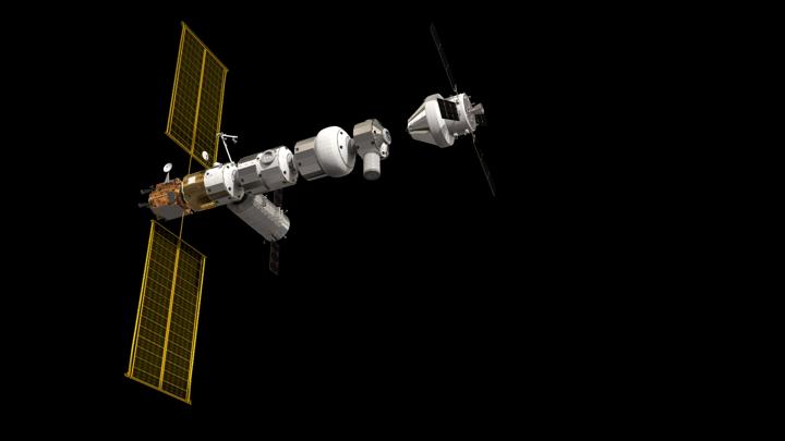 Станция Gateway станет форпостом человечества на окололунной орбите.