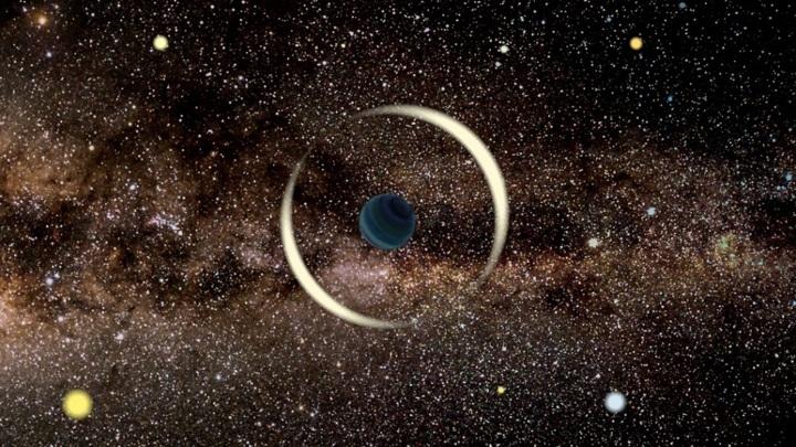 Меньше Земли: обнаружена самая крошечная планета-бродяга