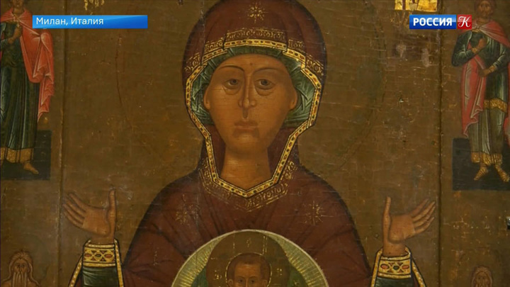 В Милане представили выставку «Божественные и авангардные. Женщины в русском искусстве»
