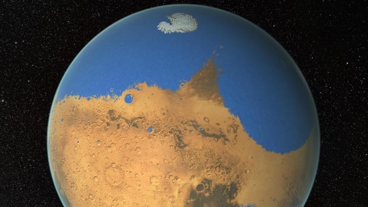 Анализ метеорита показал: Марс был влажным с самого рождения