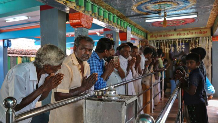 В Индии провели религиозный обряд в поддержку Камалы Харрис на выборах в США