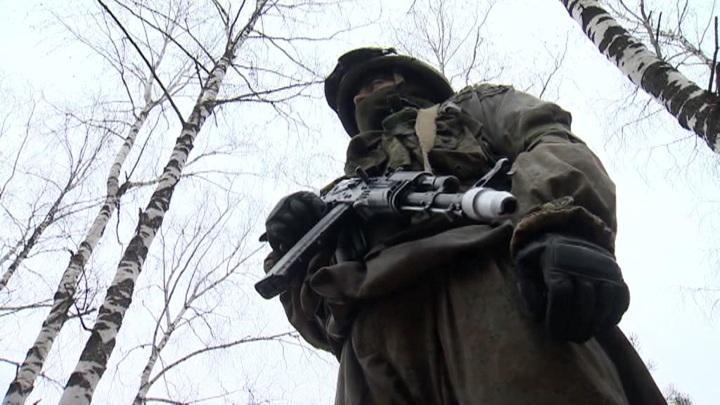 """""""Мы не шпионы"""": День военного разведчика бойцы провели на учениях"""