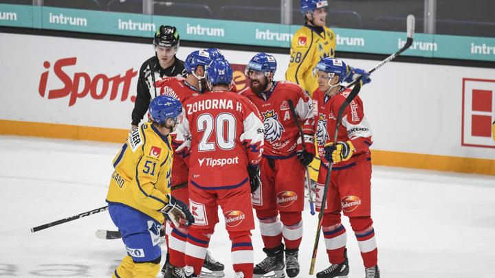 Швеция не без труда обыграла Чехию на домашнем этапе Евротура