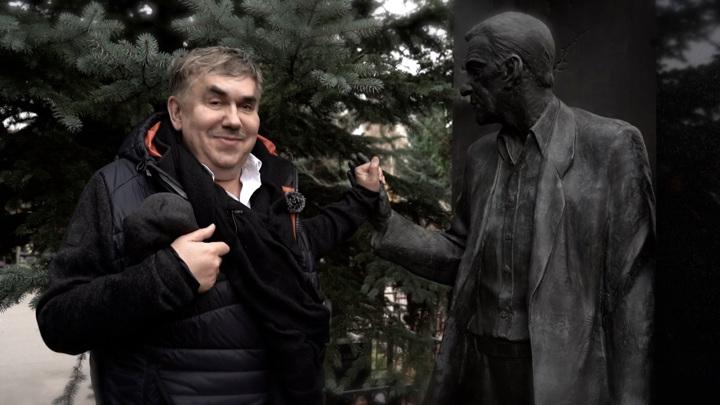 """Кадр из программы """"Привет, Андрей"""". Станислав Садальский"""