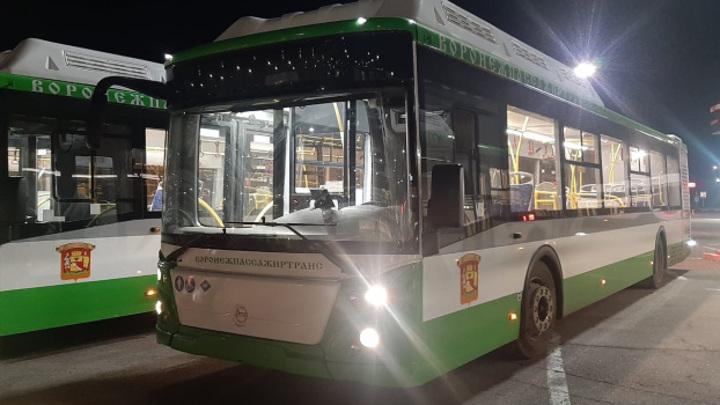 В Воронеж прибыли современные низкопольные автобусы