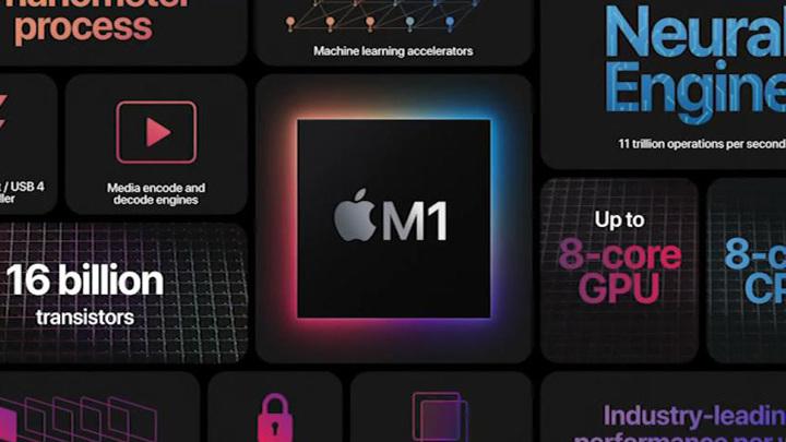 Apple представила первый собственный процессор для Mac