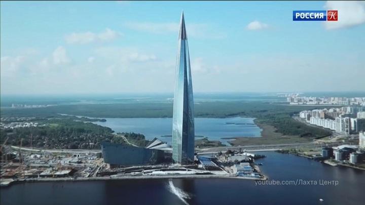 Петербургский «Лахта Центр» удостоился международной премии Emporis Skyscraper