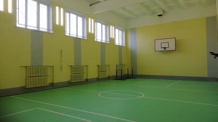 Закончен ремонт спортзалов в сельских школах Ярославской области