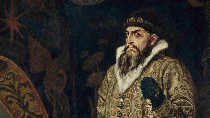 """""""Царь Иван Васильевич Грозный"""". В.М. Васнецов, 1897 год."""