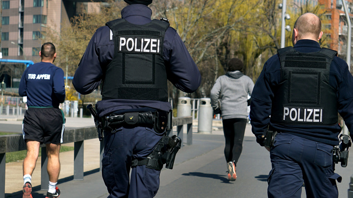 При стрельбе в Берлине ранены четыре человека