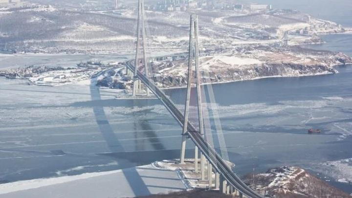 Вантовым оболочкам моста на острове Русский нужен ремонт