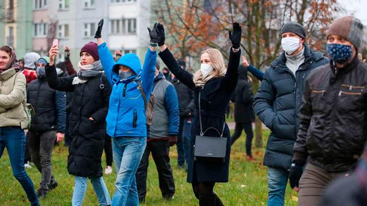 Данные милиции и правозащитников по задержаниям в Минске совпали