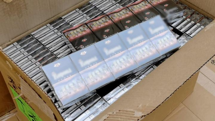Смоленские пограничники задержали партию контрабандного табака