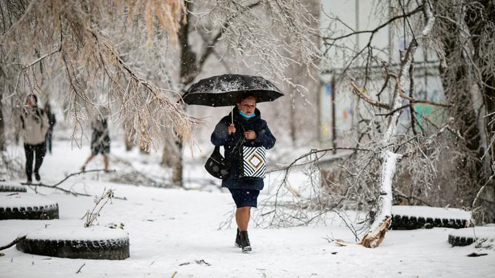 В Европейской части страны снова пойдут ледяные дожди