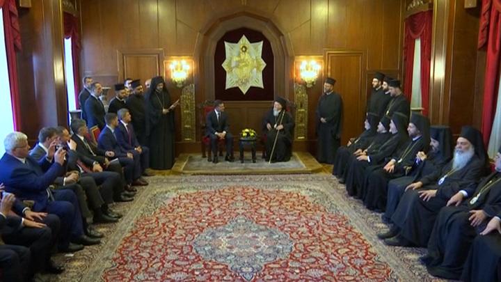 Константинополь усугубляет раскол в православии