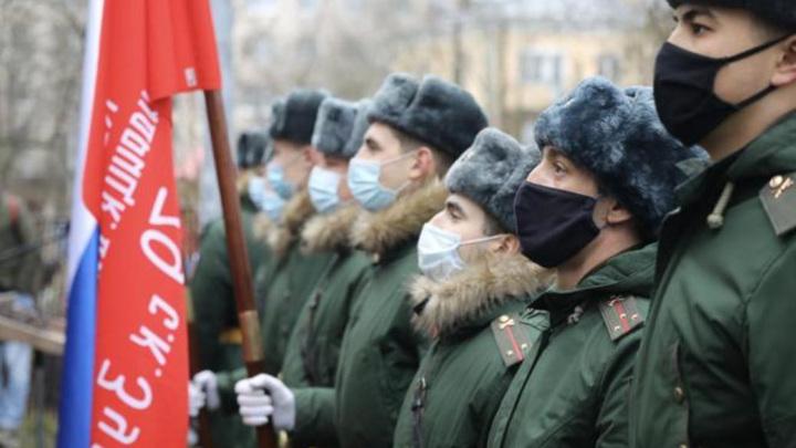 Парад в честь 100-летия вологжанина провели в Санкт-Петербурге