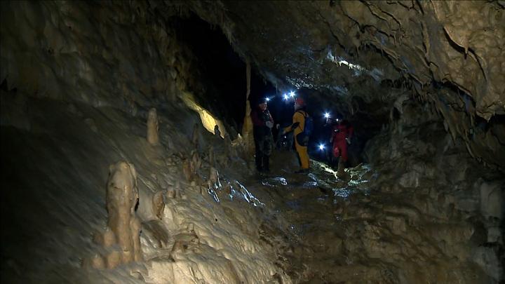 Детская туристическая группа пропала в Сьяновских каменоломнях
