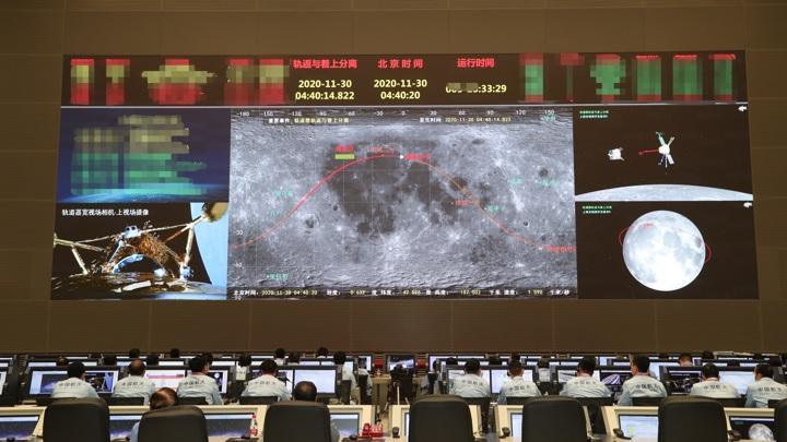 Китай реализует амбициозную лунную программу.