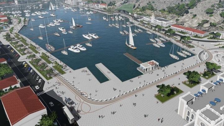 Проект яхтенной марины в Балаклаве включает строительство очистных сооружений