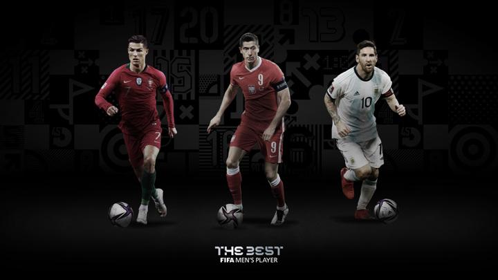 Месси, Роналду и Левандовски поборются за звание игрока года