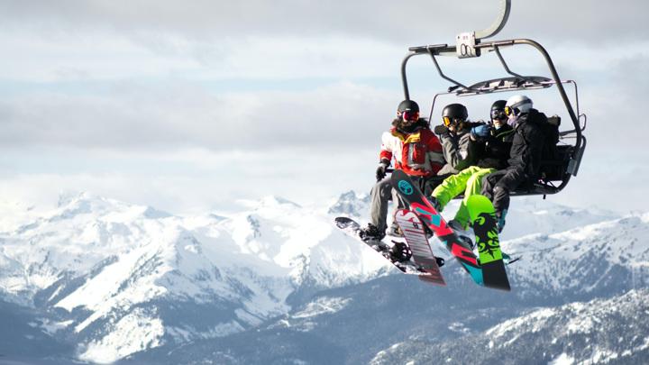 В России завершается горнолыжный сезон