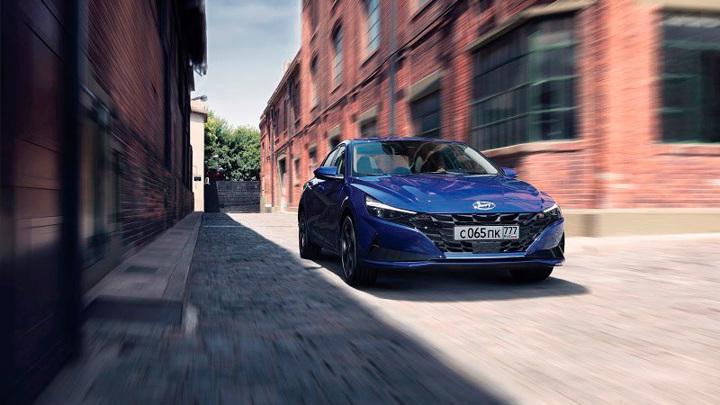 Hyundai объявила в России цены на новый седан Elantra