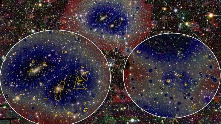 Астрономы обнаружили удивительную структуру.